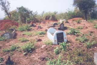 The existing hilly graveyard in Margao