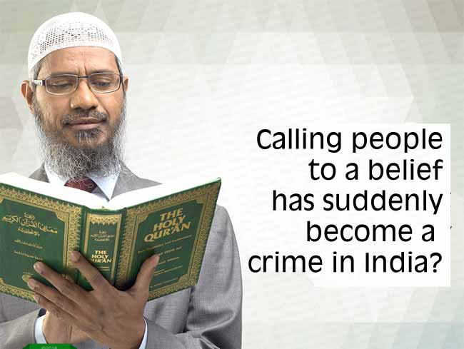 Calling people to a belief has suddenly become a  crime in India?
